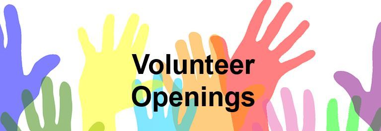 Volunteer Board Openings