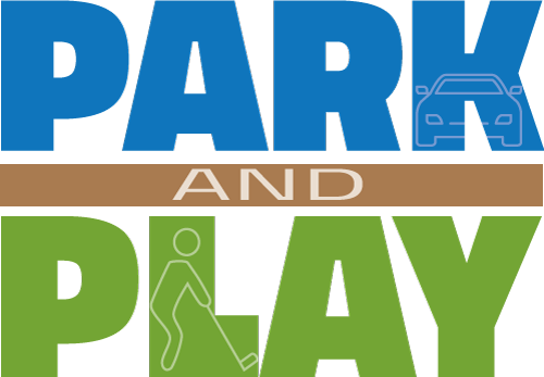 stacked park and play icon